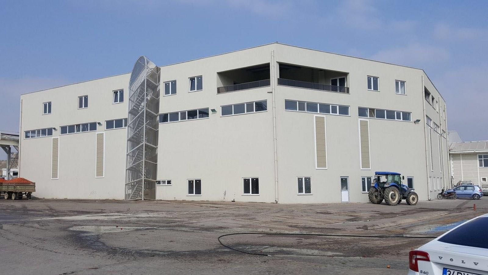 Olca Salça Fabrikası İnşaatı Karacabey BURSA